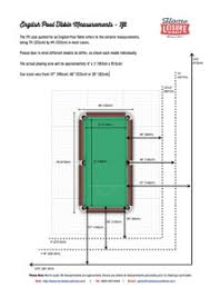 width of a 7 foot pool table dimensional slate size diagram for 7 foot k pattern 3 piece slate