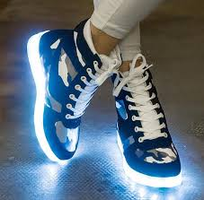 ladies light up shoes prettybaby led light up shoes for adults shop high top sneakers big