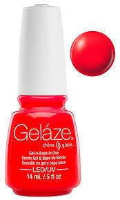 gelaze china glaze gel nail color polish 0 5 oz pool party