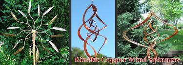 kinetic wind spinners copper wind spinners garden wind spinners