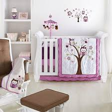 Sears Crib Bedding Sets Baby S By Nemcor Plum Owl 6 Crib Bedding Set