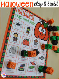 halloween activities and centers for preschool pre k and