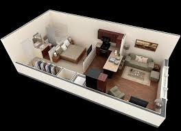 narrow compact small apartment floor plans homescorner com