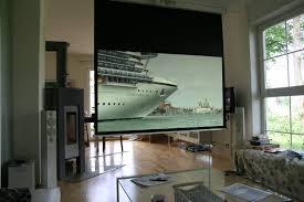 Wohnzimmer Kino Ideen Beamer Oder Fernseher Oder Beides