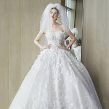 wedding dress version wedding dress 2017 new wedding korean version was thin belly