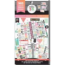 create 365 the happy planner productivity value pack stickers
