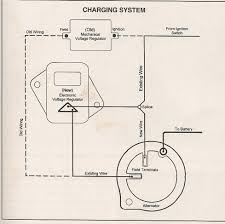 awesome alternator external regulator wiring diagram images the