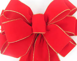 christmas wrapping bow 2 decorative christmas bows wreath bow for christmas wreath