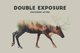 tutorial double exposure photoshop cs3 double exposure photoshop action pro designmont deals graphics