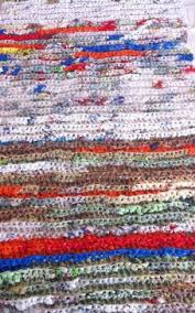 How To Crochet A Rug Out Of Yarn Turning Plastic Bags Into Sleep Mats For Homeless The Savvy Age