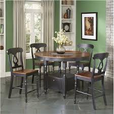 round counter height table set largo phillip counter height table w lazy susan olinde s