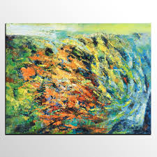 Painting Livingroom by Canvas Art Oil Painting Living Room Wall Art Abstract Landscape