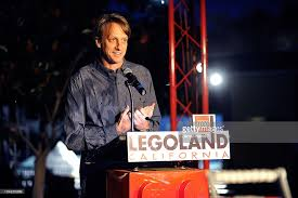 legoland tree lighting ceremony with tony hawk photos
