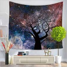 tapestry home decor home decor polyester fabric star jungle tapestry wall hanging throw