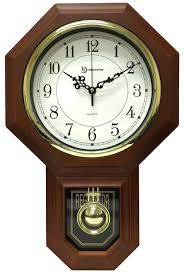 bulova wall clock bulova chesapeake wall clock and barometer