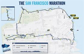 Boston Marathon Route Map by A Runner U0027s Experience Of The San Francisco Marathon The San