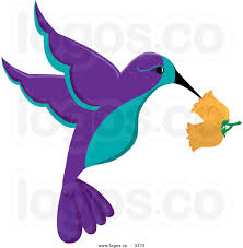 purple flower clipart animated bird pencil and in color purple