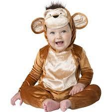 Monkey Halloween Costumes Baby Baby Clothing Monkey Business Halloween Costume Walmart