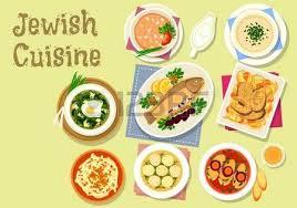 jüdische küche jüdische küche koscher gerichte symbol mit gelierter hecht fisch