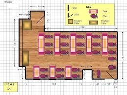 Designing A Preschool Classroom Floor Plan Draft A Cad Drawing Using Ms Powerpoint Windows Xp