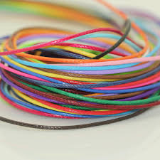 thread cord bracelet images Buy 200yards roll shiny cotton waxed cord 1 5mm jpg