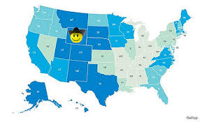 happiest states wyoming ranks as one of the top 5 happiest states