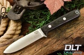 bark river knives mini kephart black canvas micarta