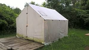 wall tent that you can rent picture of myre big island state