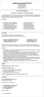 Restaurant Manager Resume Template Resume Exles For Retail Store Manager Sle Cover Letter For
