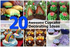 20 awesome cupcake decorating ideas