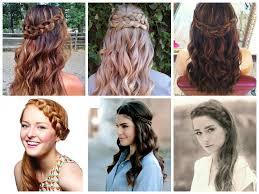 half up half down wedding day hairstyles hair world magazine