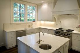Round Prep Sink Transitional Kitchen Twin Companies - Kitchen prep sinks