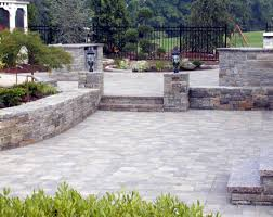 patio u0026 pergola beautiful backyard stone patio design ideas
