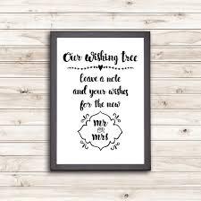 Wedding Wishes Jar Free Wishing Tree Printable Linentablecloth