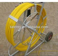 fiber snake duct rodder fiberglass push pull rod galvanized