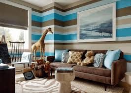 Painted Wood Coffee Table Brown And Blue Living Rooms Brown Oak Wooden Flooring White Wood