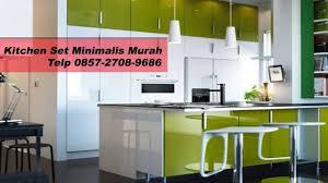 Kitchen Set Minimalis Untuk Dapur Kecil 0857 2708 9686 Harga Lemari Dapur Minimalis Kitchen Set Second