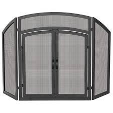 fireplace door glass replacement best 25 fireplace screens with doors ideas on pinterest