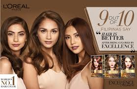 hair color for filipina woman l oreal paris excellence fashion hair color 14g no 6 35