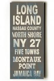 Home Decor Signs And Plaques Long Island Transit Sign Wall Plaque Unframed Art Wall Decor