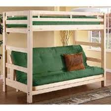 Bunk Bed With Sofa by Twin Over Full Liberty Futon Bunk Bed Frame Unfinished Price