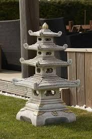 four tier pagoda japanese garden ornament and lantern garden