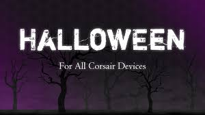 halloween themed keyboard background corsair rgb profile halloween youtube