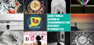 Popular Artwork 10 Most Popular Artwork On U0027the Uncommon Box Tub U0027 In The Month