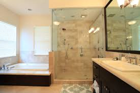 affordable vs costly bathroom remodeling which one you gonna bathroom remodelling with bathtub and walk in shower with glass and vanity units plus sink and