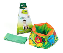 Washington travel potty images Comfydo disposable and foldable travel potty training jpg