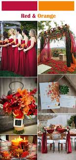 fall wedding color palette six classic fall and winter wedding color palettes weddings