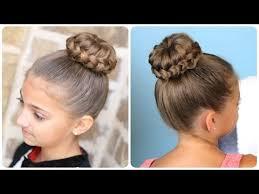 howtododoughnut plait in hair lace braided sophia lucia bun updo hairstyles youtube