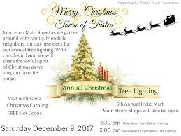 Christmas Tree Songs Town Of Tusten Narrowsburg Tree Lighting Sullivan Catskills