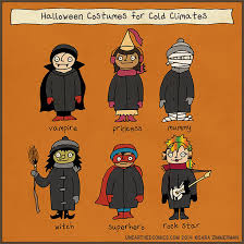 Meme Halloween - halloween costumes for cold climates by unearthed comics